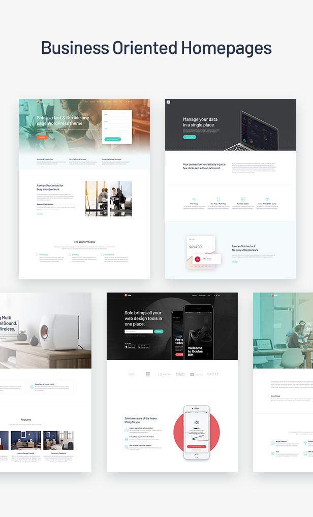 Sole-One page WordPress theme-3